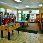 Teens like the game room