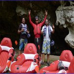 Our cave rafting staff
