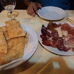 Gnocco fritto e salumi: meraviglia!!!