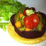 tarte fine aux legumes