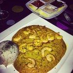Vatapa with shrimp