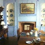 The wonderful dining room