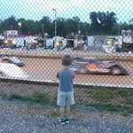 My grandson and I love the races.