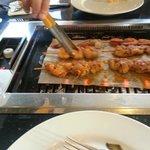 Barbecue brochette