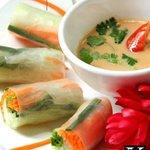 K'NYAY Khmer & Vegan cuisine served at The Terrace on 95