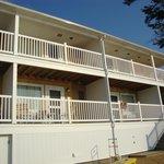 Beachfront room exterior