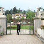 schöne Parkanlage in Baden Baden