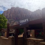 Views of Zion from patio!