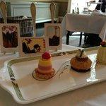 Trio of Art Desserts