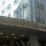 The main entrance to the Mayo is directly across from the entrance to the Kahler Grand