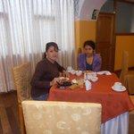 Comedor del hotel Warari
