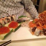 Mad maki and salmon zen