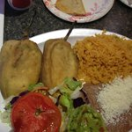 Chile Relleno - big and fantastic!