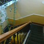 Escada interna.