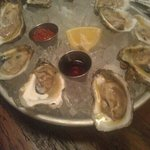 Happy Hour- $1.00 Oysters Amazing!