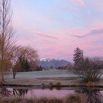 Beautiful sunrise in Arrowtown