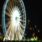 big wheel at night