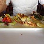 lobster saint jacques