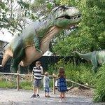 dinosaur exhibits were the best!