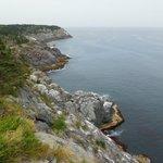 One of the many coastal views on the island.