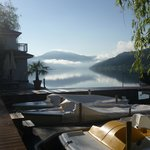 Le lac au petit matin