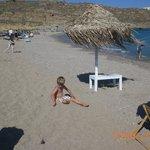 Children enjoyed the beach and water