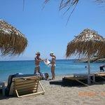 vendors on beach