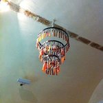 strano lampadario