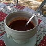 gaspacho tomate basilic