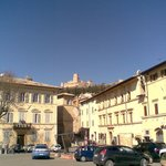 Square in Assisi