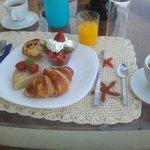 Breakfast at Casa Sol e Lua