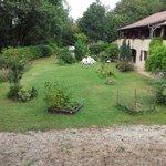 hôtel et jardin