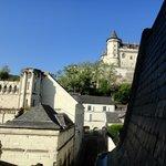 Vue sur chateau de Saumur