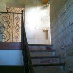 Escalier pour Chambre Rouge