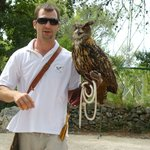 The owner and his owl
