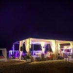 Beachclub by night