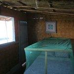 Inside Cast Away Cabin