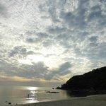 amanecer en silver beach