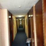 Hallway on level 4