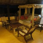 Our private veranda