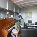 even a piano