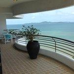 Balkong med utsikt