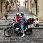 Viaggiatori in moto