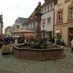 Het stadscentrum van Offenburg
