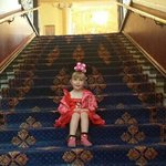 our very own mini minnie mouse at the beautiful sunderland empire