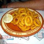 I Calamari fritti erano congelati