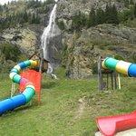 scivoli nel parco divertimenti