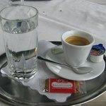 Il caffè servito