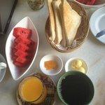 Breakfast provided
