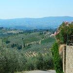 Aussicht in Richtung Magliano